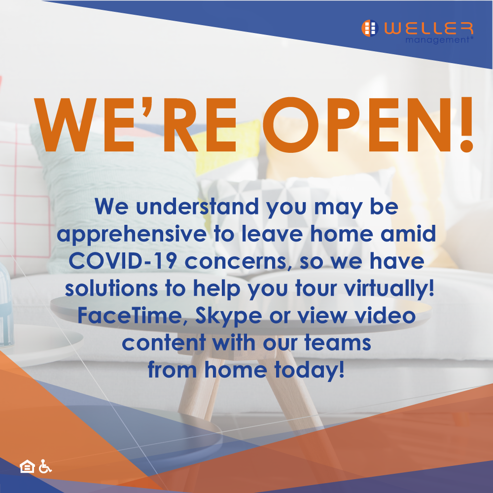 We understand you may be apprehensive to leave home amid COVID-19 concerns, so we have solutions to help you tour virtually! FaceTime, Skype or view video content with our teams from home today!